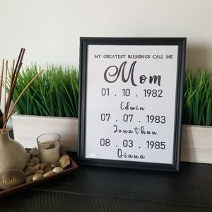 Mother's day Gift (Personalized for you)